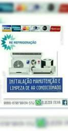 Serviços em centrais de ar condicionado