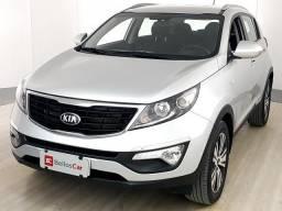 Kia Motors Sportage LX 2.0 16V/ 2.0 16V Flex  Aut. - Prata - 2014 - 2014