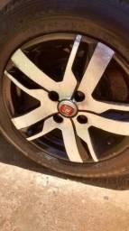Troco rodas 14 em rodas 17 com peneus bons