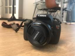 Câmera profissional marca cânon modelo eos rebel t5