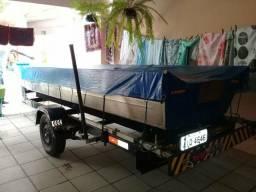 Troco por quadriciclo 4x4 barco+carreta+motor - 2016