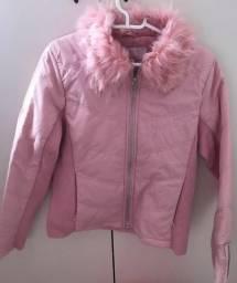 Casaco rosa tamanho P