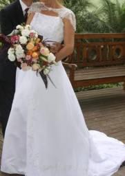 Vestido de noiva dos EUA, tam 14 (44-46)