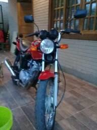 Moto fan 125 top super nova - 2012