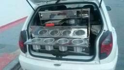 Kit para porta mala de carro