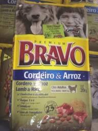 Ração Premium Bravo Cães Adultos Cordeiro e Arroz 20Kg R$99,00 Avista
