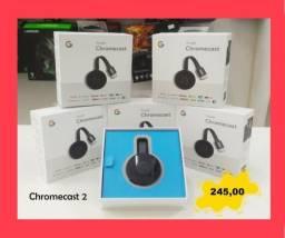 Chromecast 2 - Transforme sua TV em Smart!