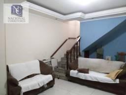 Sobrado com 3 dormitórios à venda, 225 m² por R$ 550.000 - Parque João Ramalho - Santo And