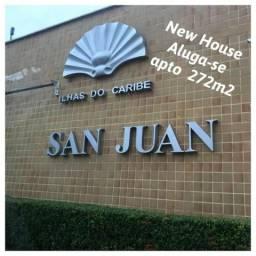 Aluga-se apto 4 qtos, Ed. San Juan, Península - Ponta D`Área - São Luis