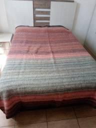 Cobertor casal 100% lã