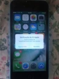 IPhone 5c Tela Ta Trincado Tem Parte Que Não Meche Leia A Descrição