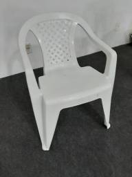 Cadeiras de plástico com braço 15 unidades