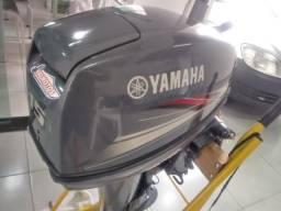 Motor de popa 15hp Yamaha ano 2010 impecavel. *