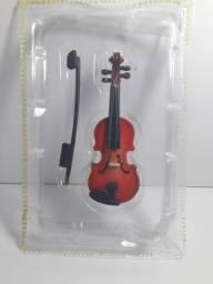 Miniatura instrumentos musicais Violino edição 2. Salvat
