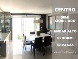 Lindo apartamento Semi Mobiliado no Centro / Exposição na Rua Andrade Neves !!