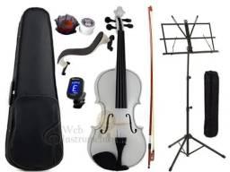 Violino Branco Lindo