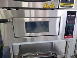 Forno de lastro digital até 450°C - *