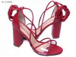Sandália Feminina Torricella Vermelha Numeração 38