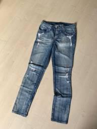 Calça jeans feminina TAM 42