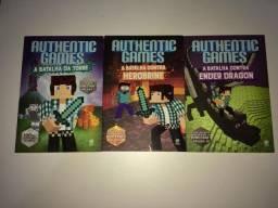 Kit 3 Livros Authenticgames