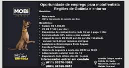 Oportunidade de Trabalho motofrentista em Goiânia e Região