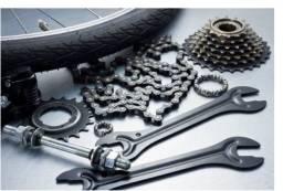 Montagem e manutenção de bicicleta