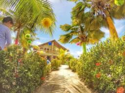 Alugo casa na beira mar da Praia do Sossego - Ilha de Itamaraca