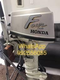 Título do anúncio: Motor de popa Honda 15 hp 4T gasolina pura
