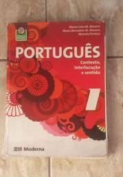 Livro Português: Contexto, interlocução e sentido - Moderna - vol.1