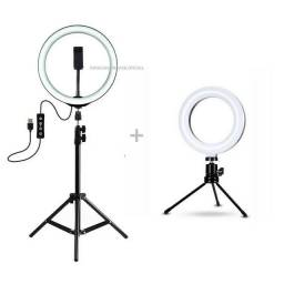 Ring Light kit com 2 unidades 12' e 8' polegadas