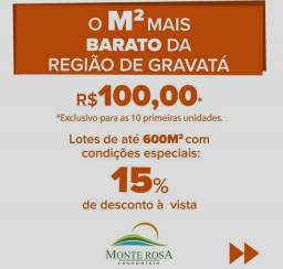 TERRENO NA REGIÃO DE GRAVATÁ
