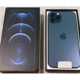 Título do anúncio: iPhone 12 Pro 128 gb Azul