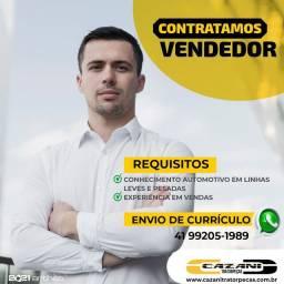 CONTRATAMOS vendedor em Paranaguá