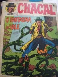 Revista antiga ,o chacal n-° 8 ano 1981