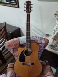 Título do anúncio: Vendo violão Fender canhoto