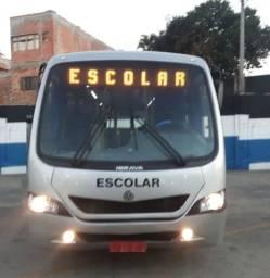 Título do anúncio: Micro Ônibus Ibrava Escolar Prata 51 Lugares  Pronta Entrega