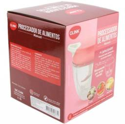 Título do anúncio: Processador de Alimentos 5 Laminas Clink Triturador Cortador de Cebola Alho Colorido