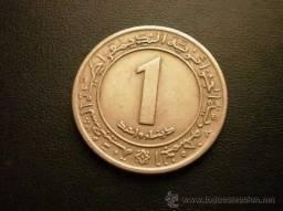 Título do anúncio: Moeda 1 Dinar - Argélia