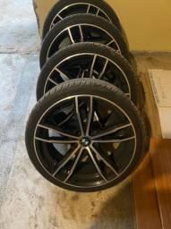 Rodas Aro 20 - 4 pneus novos