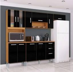 Cozinha Completa com  Paneleiro Duplo e Balcão Novo