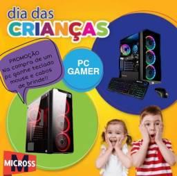 Título do anúncio: Promoção de dia das crianças PC gamer!