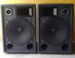 """Título do anúncio: Vendo esse par de caixas de som (18"""" cada falantes)..."""