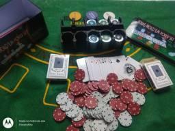 Título do anúncio: Kit poker completo