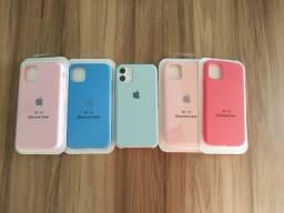 Cases aveludadas iPhone