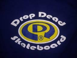 Título do anúncio: Camiseta Drop Dead Skateboard