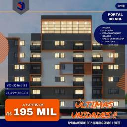 Apartamento para Venda em João Pessoa, PORTAL DO SOL, 2 dormitórios, 1 suíte, 1 banheiro,