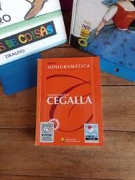 Título do anúncio: Livro Nova minigramática da língua portuguesa - Cegalla