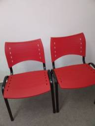 Cadeiras Fibra de Ferro Nova
