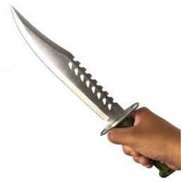 Faca Tática Rambo Combate Militar Sobrevivência