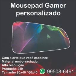 Mousepad gamer 90x40cm personalizado